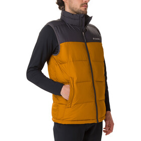 Columbia Pike Lake Vest Men burnished amber/shark